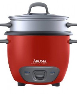Aroma® 6 Cup Rice Cooker & Food Steamer