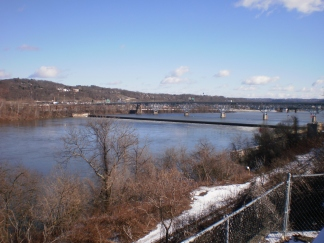 Highland Park Bridge and Allegheny River
