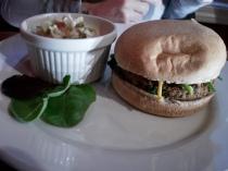 Housemade Veggie Burger w/ Cole Slaw Side