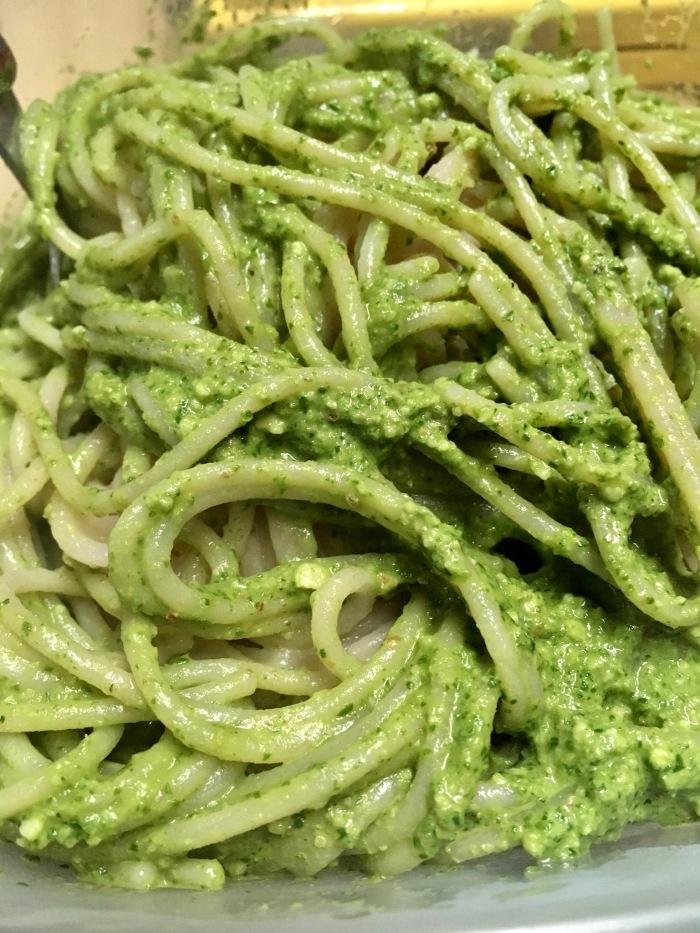 Oil-Free Arugula Pesto