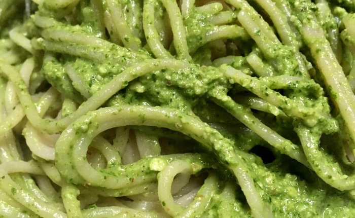 Oil-Free Arugula Pesto
