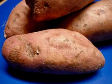 Pan Roasted Maple Sweet Potatoes