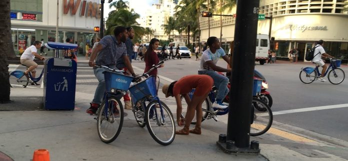 Citibikes Miami