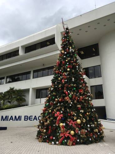 Christmas in Miami is just weird. Sorry Miami. It just is.