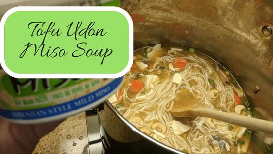 Tofu-Udon-Miso-Soup
